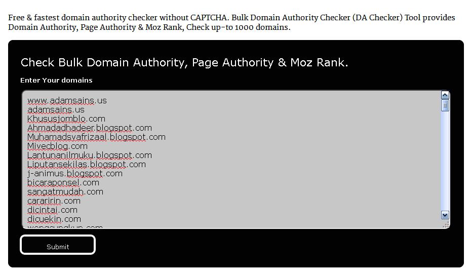 Langkah Mengetahui Page Authority dan Domain Authority