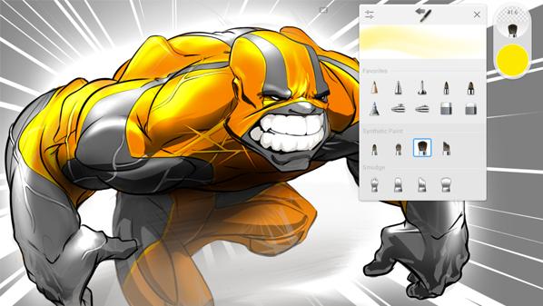 تطبيق Autodesk SketchBook