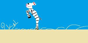 A  Zebra for her Bubbie