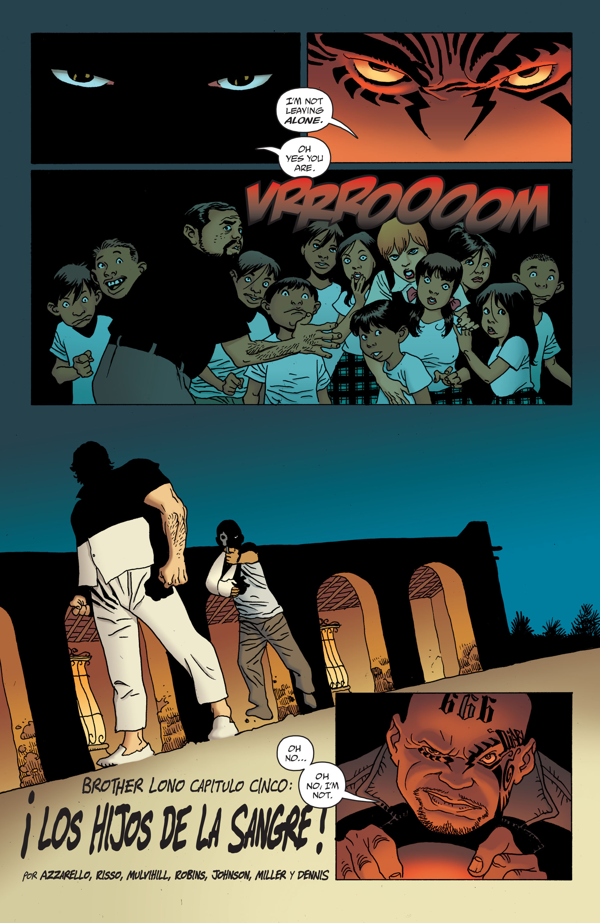 100 Bullets: Brother Lono Full Page 121