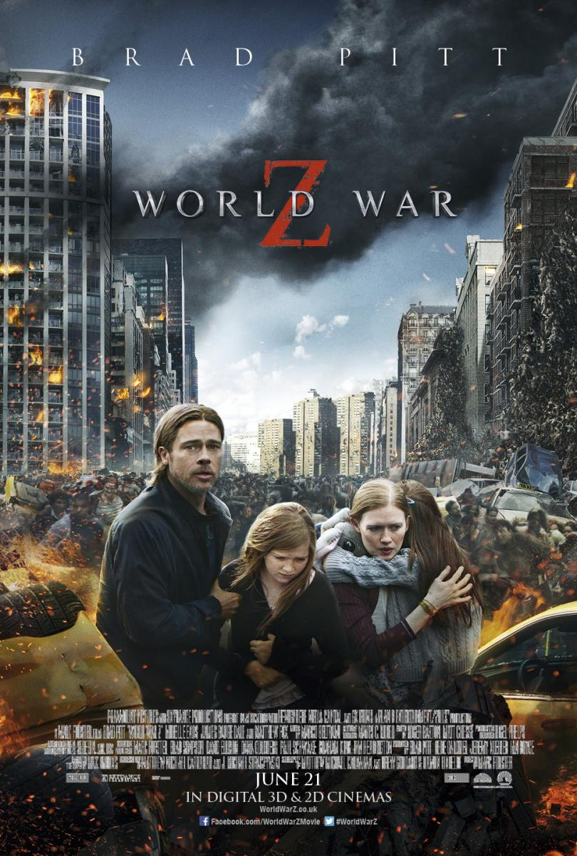 Guerra mundial Z (World War Z) 2013
