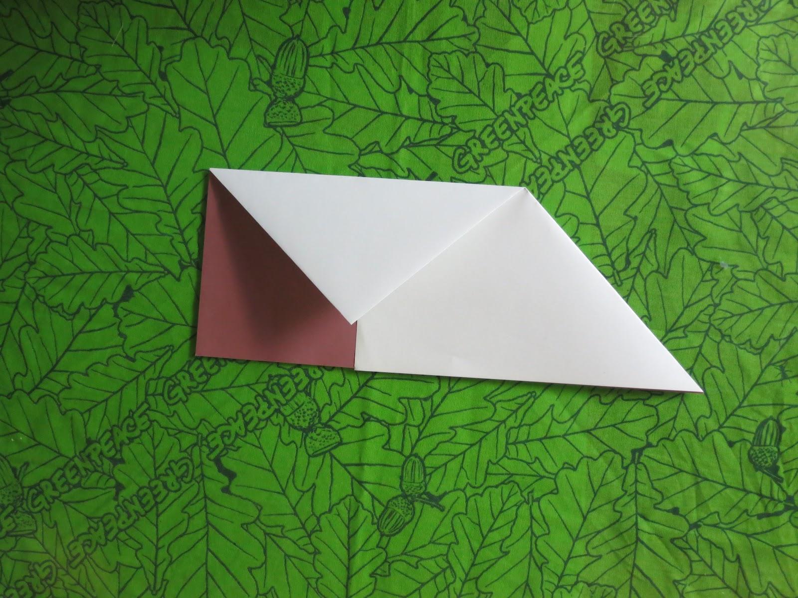 Как сделать из листочка письмо