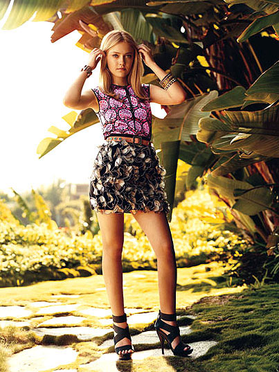 Dakota Fanning, Actress, Teen Vogue Magazine
