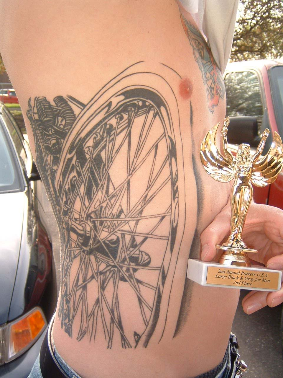 Tattoos for Men 2011: Rib Cage Tattoos Design Ideas For Men And Women