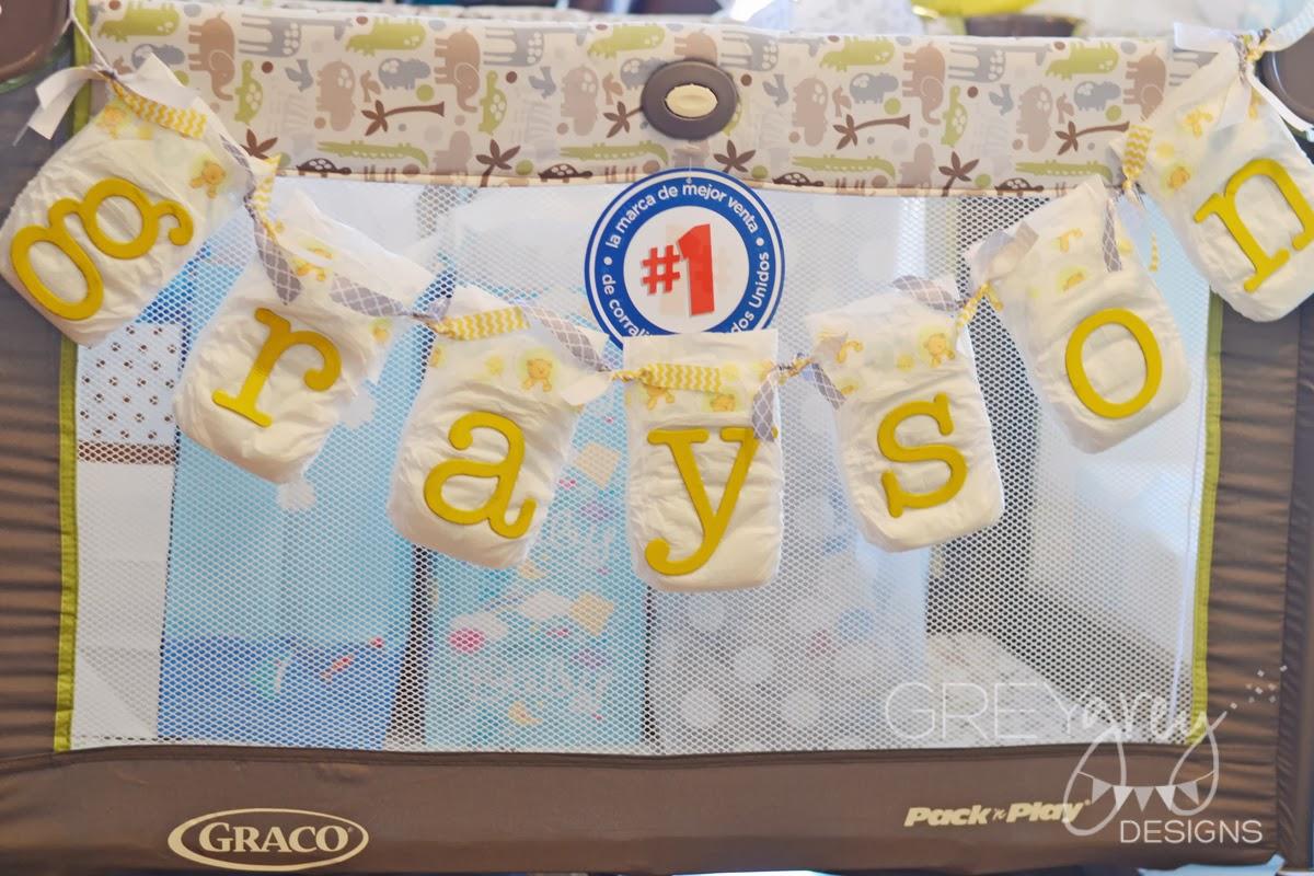 GreyGrey Designs: {My Parties} Yellow And Grey Bundle Of Joy Baby Shower