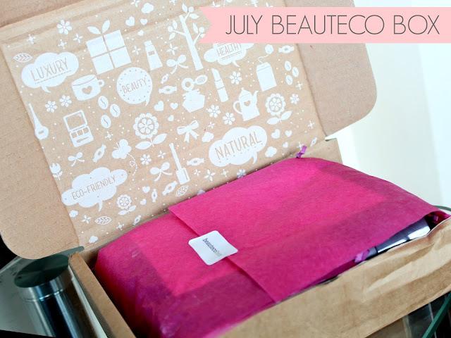 Beauty Box, Beauteco Beauty Box, Beauteco July Beauty Box 2013, July Beauteco Box 2013, Beauty Box Subscription, Neale & Wolfe Hair Products, Art Deco Shadow Base and Kajal Eyeliner, Pukka Radiance Serum