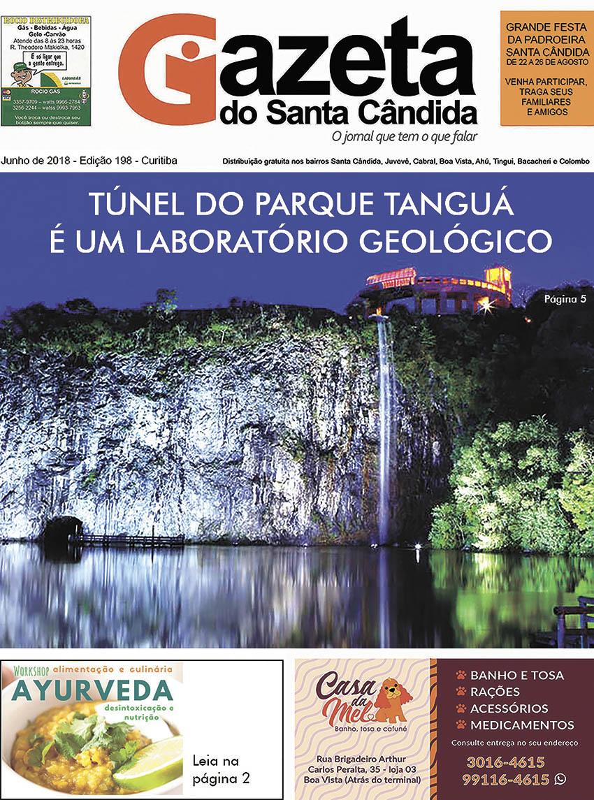 GAZETA DO SANTA CÂNDIDA, JUNHO 2018