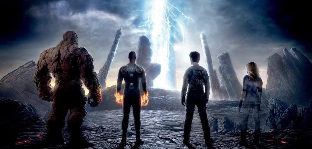 Pôster inédito de Quarteto Fantástico reúne a equipe de super-heróis