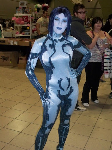cortana cosplay costume
