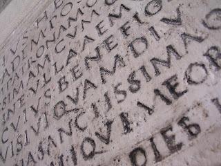 römisches Alphabet