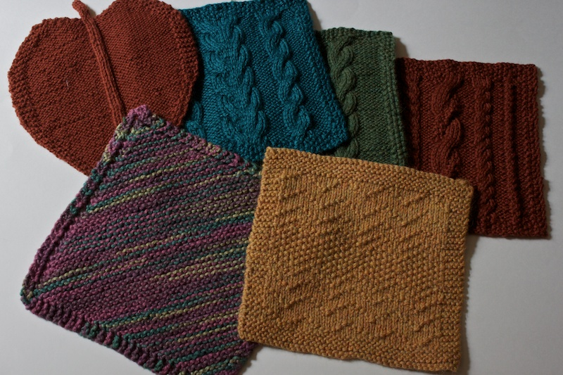 Knitting Patterns Squares images