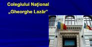Colegiul Naţional Gh. Lazăr