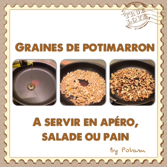 Les rendez vous gourmands miam les graines de potimarron - Graines de potimarron grillees ...
