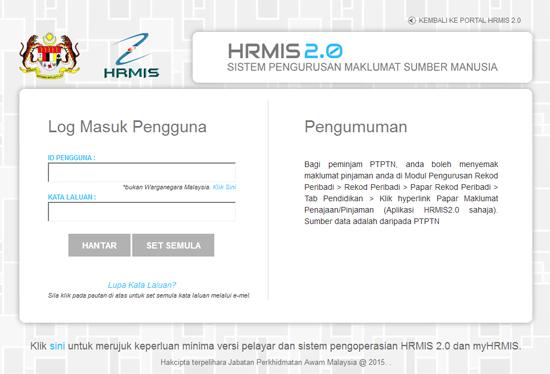 HRMIS 2 - Carian Tertinggi Google Malaysia 2015