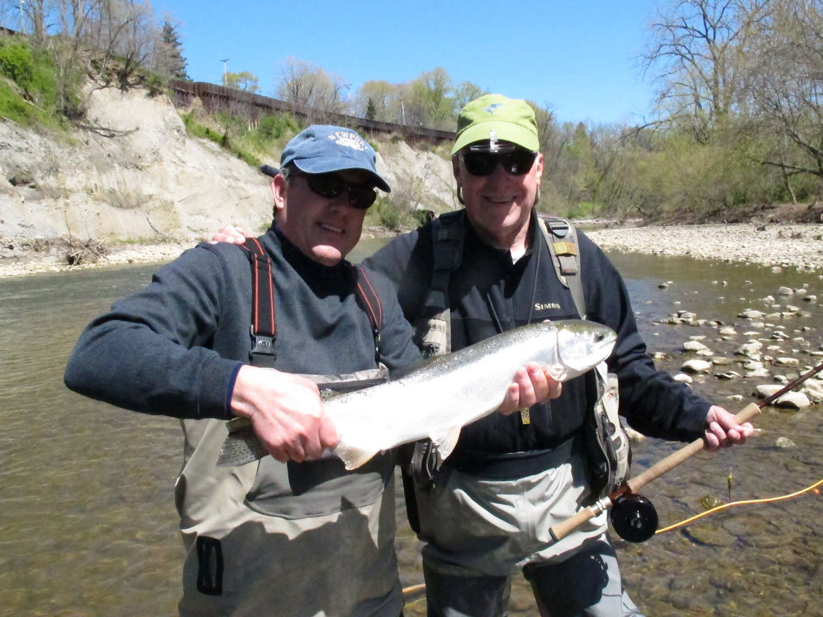 Chagrin river outfitters ohio steelhead smallmouth and for Steelhead fishing pa