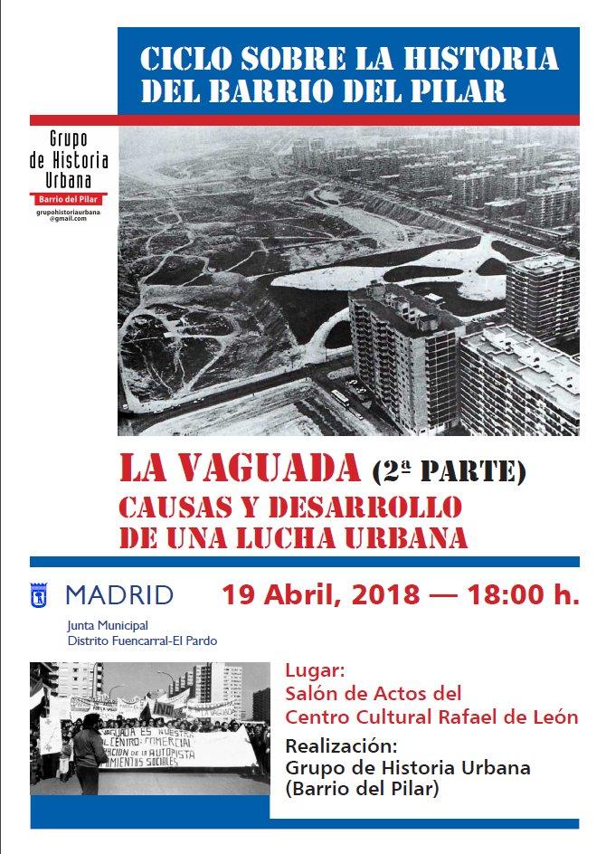 19 abril La Vaguada: Una Lucha en el barrio