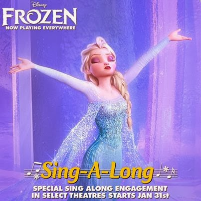 Frozen Sing-A-Long - click for additional details