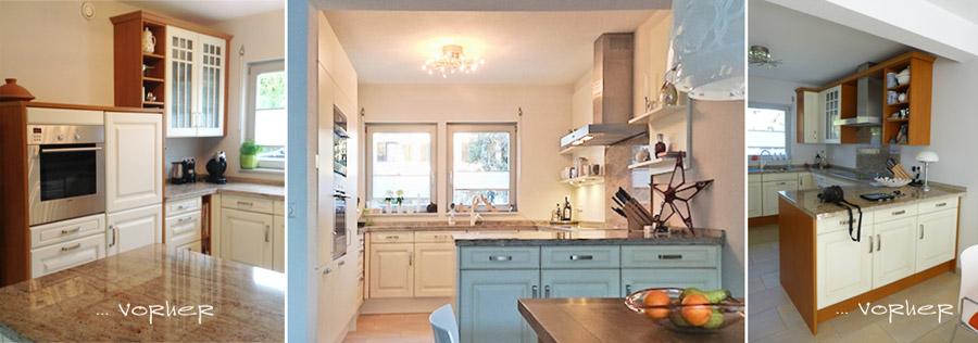 Landhausküche modernisieren, offene Regale statt Oberschränke, Landhausküche offen gestalten