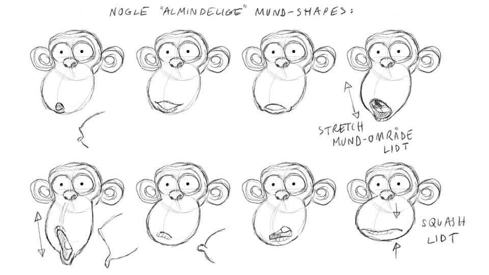 Dan Harder Animation: Marco Macaco Character Design