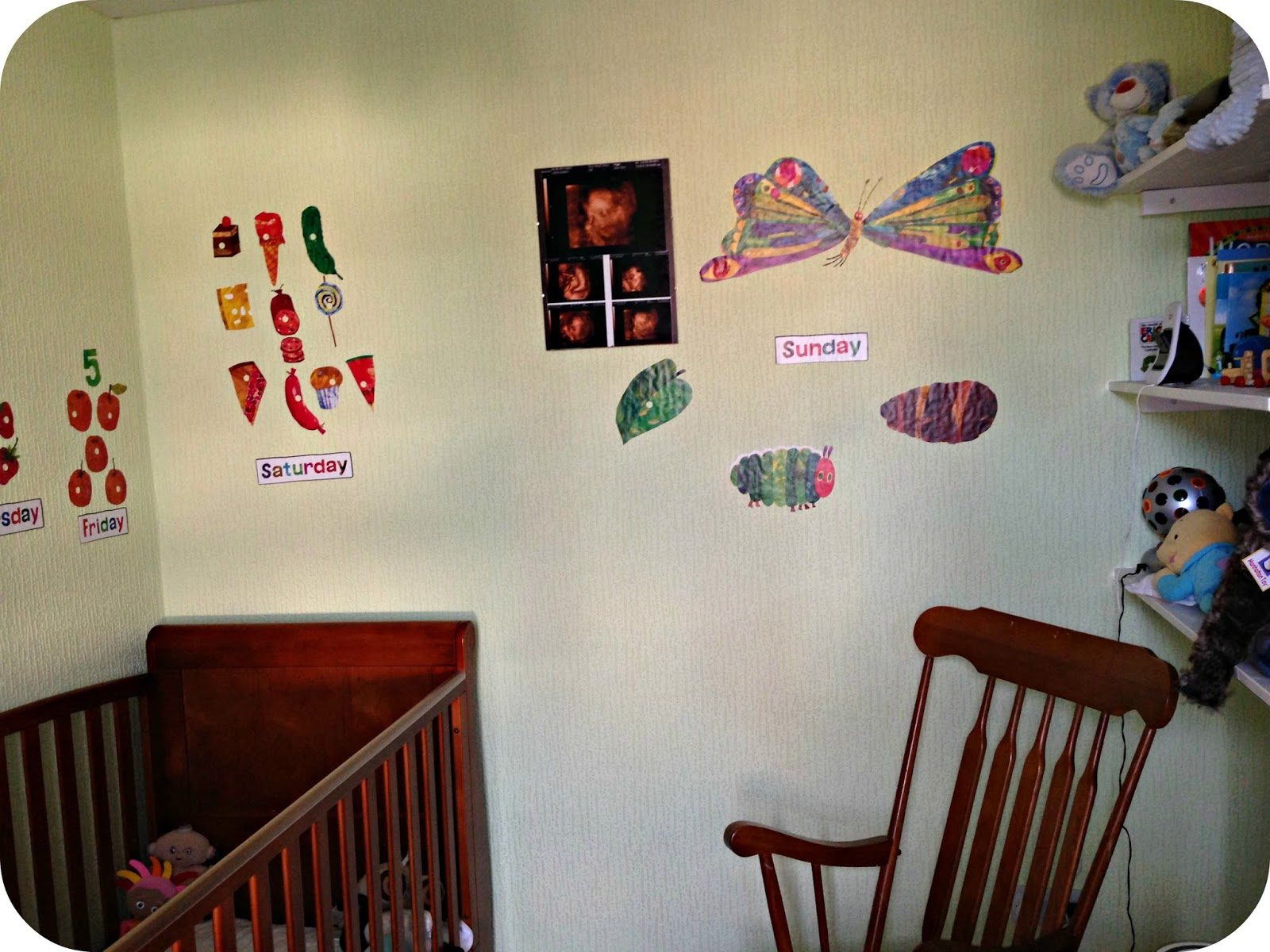 The Very Hungry Caterpillar Wall Stickers Review Part 50