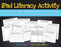 Common Core Creative Writing iPad Literacy Activity www.traceeorman.com