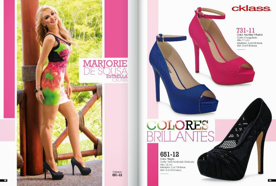 Cklass calzado dama primavera verano 2015