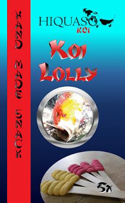 Koi Lolly von Hiquaso Koifutter Snack Leckerli
