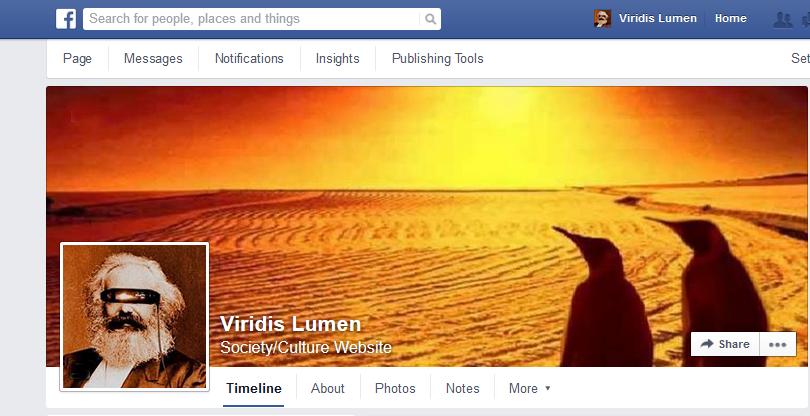 Follow Viridis Lumen on Facebook