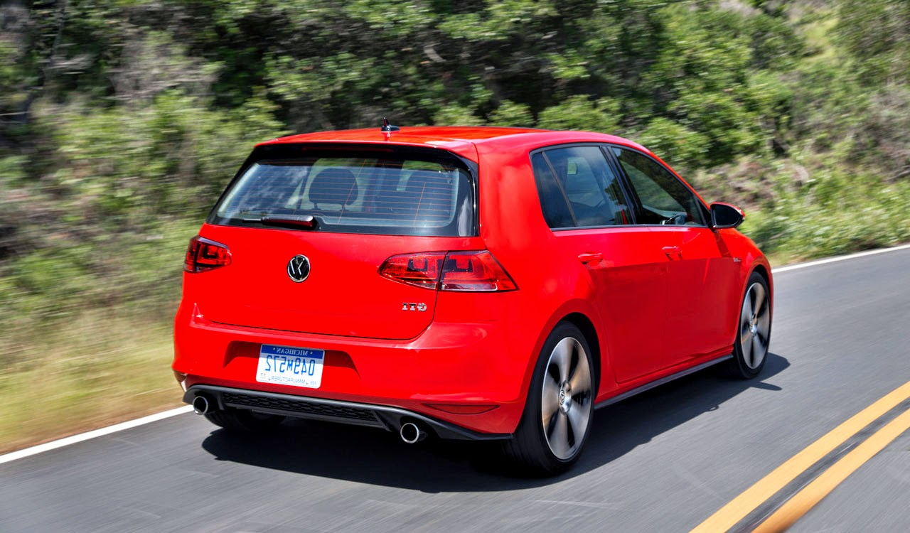 2015 Volkswagen Golf GTI Mk7 (US-Spec) pictures