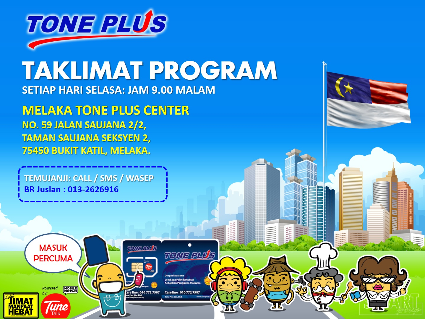 Tone Plus Preview Melaka
