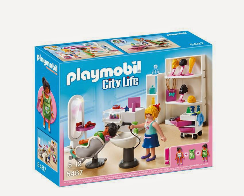 Libros y juguetes 1demagiaxfa juguetes playmobil city life 5487 sal n de belleza centro - Playmobil piscina ballena ...