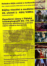 Italian film lectures at the University of Ostrava.