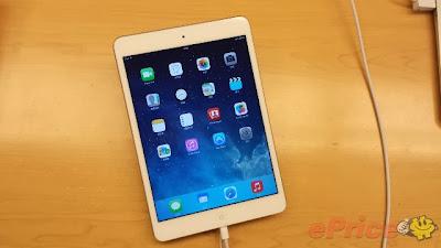 iPad Mini Retina 版晚上到貨! 百記炒貴四百蚊