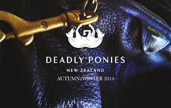 DEADLY PONIES AUTUMN/ WINTER 2014 - SHOP NOW!