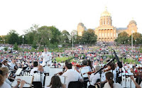 Concert at Iowa State Capitol