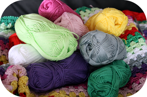 Crochet picking yarn