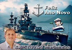 Feliz Reveillon 2017, Feliz Ano Novo Cristovão marinheiro