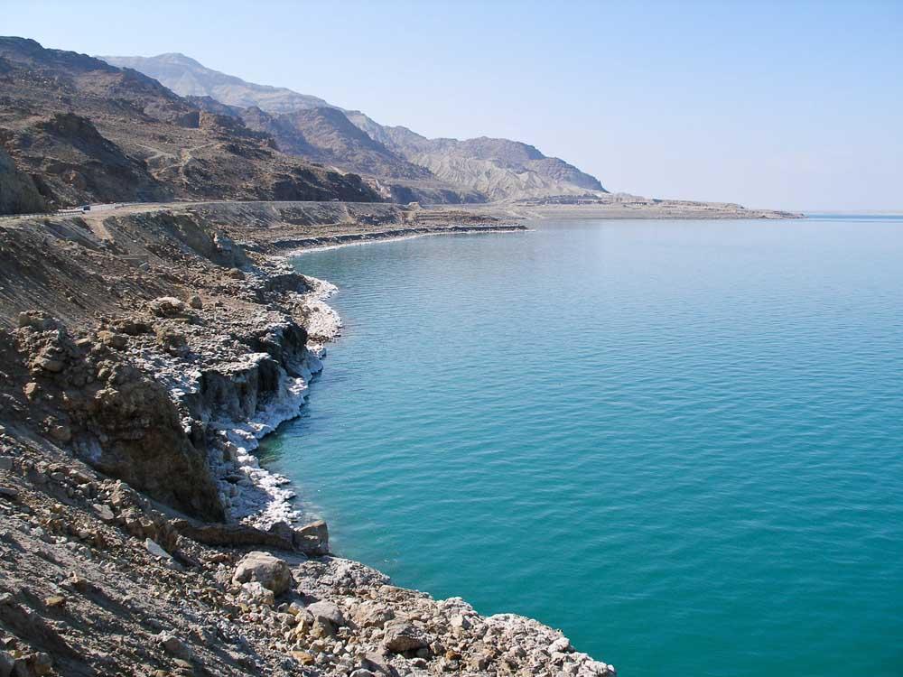 Mar morto tem esse nome devido à grande quantidade de sal por ele