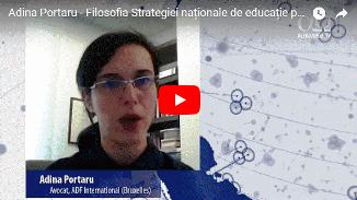 Alfa Omega TV: Adina Portaru 🔴 Filosofia Strategiei naționale de educație parentală