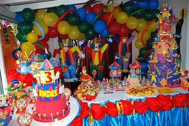 MuyAmeno.com: Decoracion de Fiestas Infantiles con Payasos, parte 2