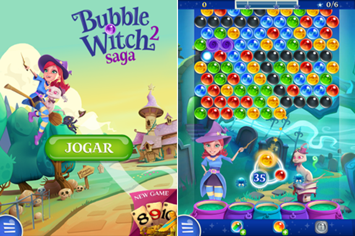 bubble witch 2 saga - blog Mamãe de Salto