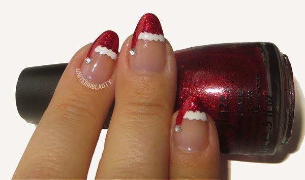 United In Beauty: 12 Days of Christmas Holiday Manicure Series Day 1 ...