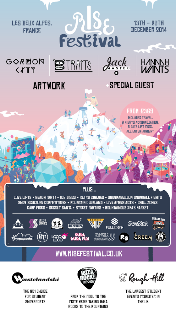 Rise Festival launches in the French Alps