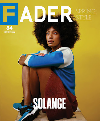 Solange Knowles Fader Magazine Cover