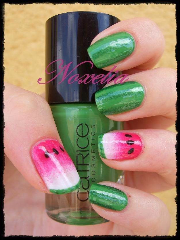 Noxelia: Stamping nail art: septiembre 2014