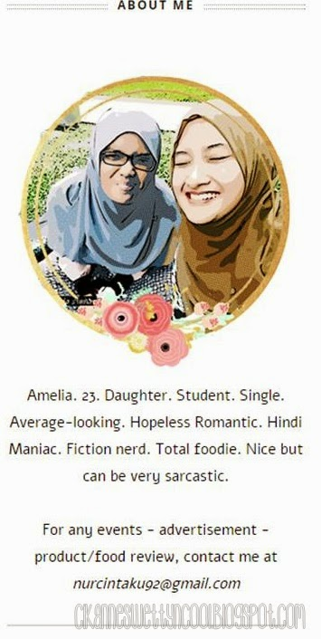 about me comel
