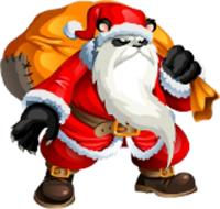 imagen de panda claus de monster legends