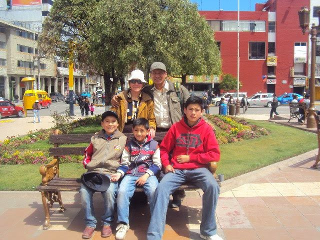 MI FAMILIA EN HUANCAYO