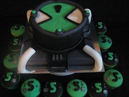 ben 10 & cupcakes