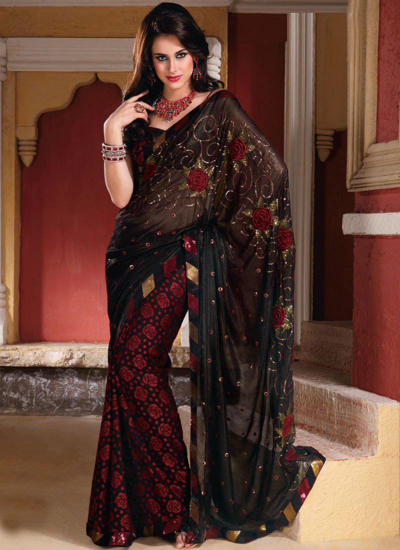 Indian Sarees 2012 New Trend Of Indian Sarees Sarees 2012 She9 Change The Life Style